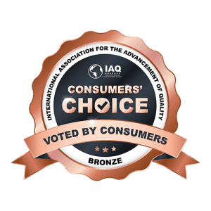 Logo of Consumers' Choice Recognition-Bronze