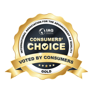 Logo of Consumers' Choice Recognition-Gold