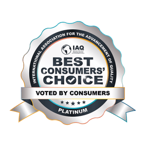 Logo of Consumers' Choice Recognition-Platinum